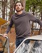 Alternative Unisex 6.5 oz., Champ Washed French Terry Crewneck Sweatshirt  Lifestyle