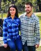 Burnside Ladies' Plaid Boyfriend Flannel Shirt  Lifestyle