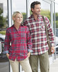 Backpacker Ladies' Yarn-Dyed Flannel Shirt  Lifestyle
