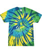 Tie-Dye Adult 5.4 oz., 100% Cotton T-Shirt KARMA FlatFront
