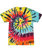 Tie-Dye Adult 5.4 oz., 100% Cotton T-Shirt LAVA LAMP FlatFront
