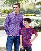 Tie-Dye Youth 5.4 oz. 100% Cotton T-Shirt  Lifestyle