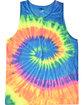 Tie-Dye Adult 5.4 oz. 100% Cotton Tank Top