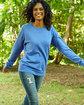 ComfortWash by Hanes Unisex 7.2 oz., 80/20 Crew Sweatshirt  Lifestyle