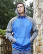 J America Adult Colorblock Cosmic Pullover Hooded Sweatshirt  Lifestyle