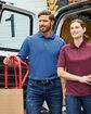 Harriton Men's Advantage Snag Protection Plus IL Polo  Lifestyle
