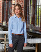 Artisan Collection by Reprime Ladies' Microcheck Gingham Long-Sleeve Cotton Shirt  Lifestyle