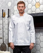 Artisan Collection by Reprime Unisex Studded Front Long-Sleeve Chef's Coat  Lifestyle