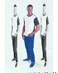 Sublivie Men's Blackout Sublimation T-Shirt  Lifestyle