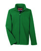 Team 365 Youth Leader Soft Shell Jacket SPORT FOREST OFFront