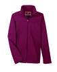 Team 365 Youth Leader Soft Shell Jacket SPORT MAROON OFFront
