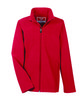 Team 365 Youth Leader Soft Shell Jacket SPORT RED OFFront